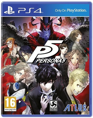 Gry PlayStation 4 - Persona 5 (Gra PS4)