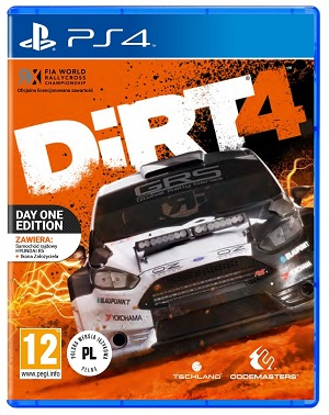 Gry PlayStation 4 - DiRT 4 (Gra PS4)