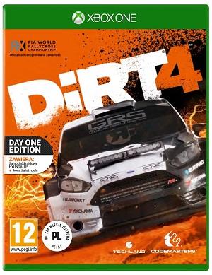 Gry Xbox One - DiRT 4 (Gra Xbox One)