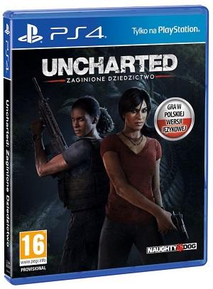 Gry PlayStation 4 - Uncharted: Zaginione Dziedzictwo (Gra PS4)
