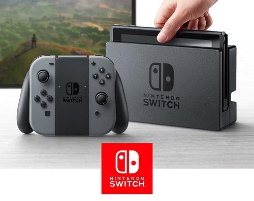 Konsole do gier - Nintendo Switch 32GB Szary
