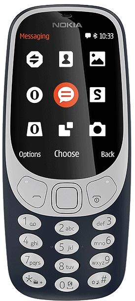 Klasyczne telefony komórkowe - Nokia 3310 (2017) Granatowa