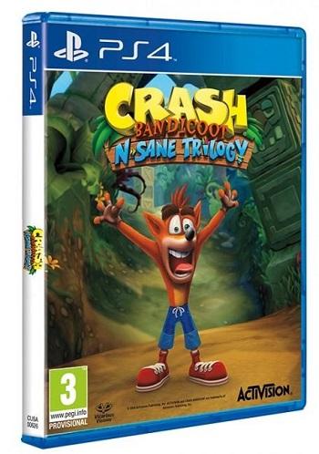 Gry PlayStation 4 - Crash Bandicoot N. Sane Trilogy (Gra PS4)