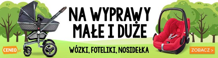 Podróż i spacer z dzieckiem na Ceneo.pl