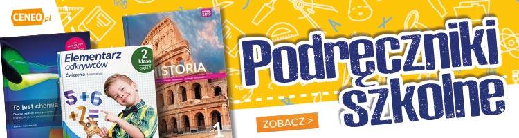 Podręczniki szkolne - zobacz na Ceneo.pl