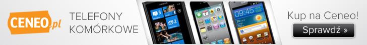 Telefony komórkowe na Ceneo
