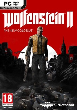 Gry PC - Wolfenstein II: The New Colossus (Gra PC)