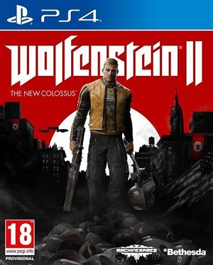 Gry PlayStation 4 - Wolfenstein II: The New Colossus (Gra PS4)