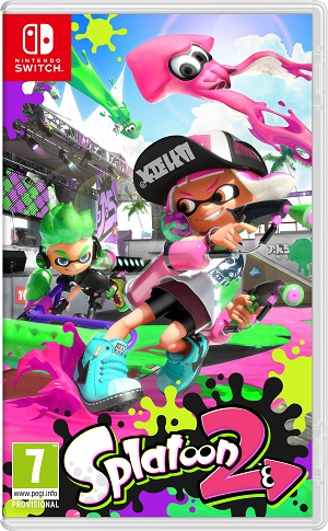 Gry Nintendo Switch - Splatoon 2 (Gra NS)