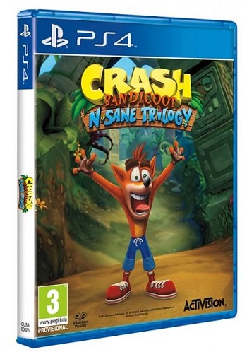Gry PlayStation 4 - Crash Bandicoot N. Sane Trilogy (Gra PS4)
