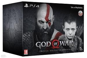 Gry PlayStation 4 - God of War - Edycja Kolekcjonerska (Gra PS4)