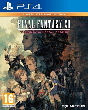 Gry PlayStation 4 - Final Fantasy XII: The Zodiac Age - Limited Steelbook Edition (Gra PS4)