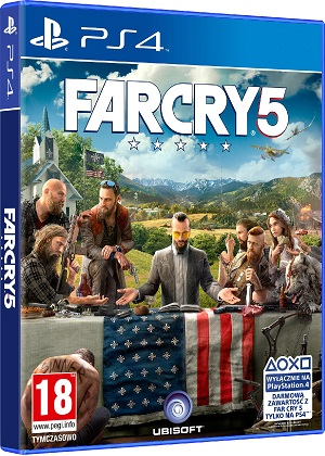 Gry PlayStation 4 - Far Cry 5 (Gra PS4)